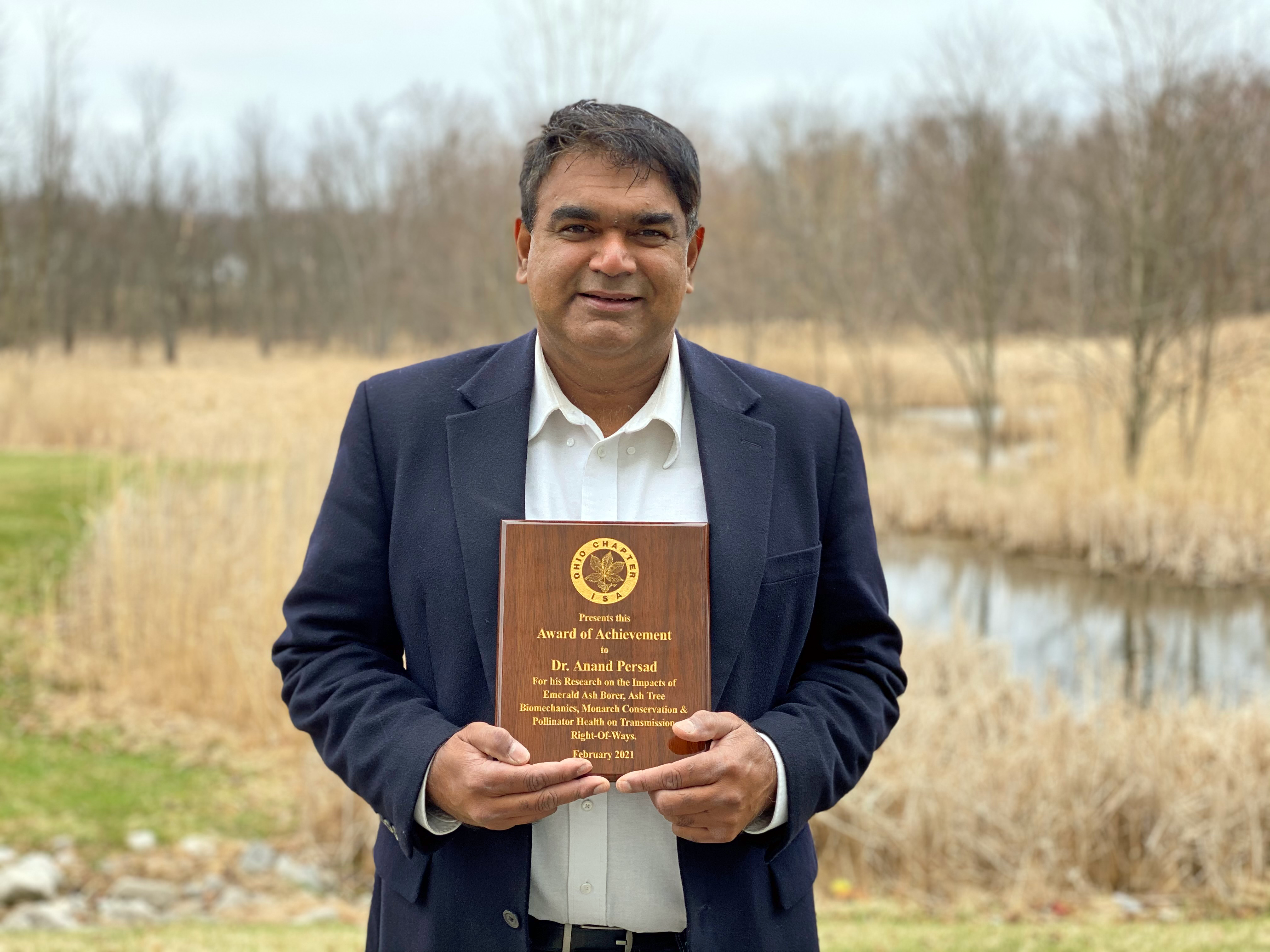 Director of Research, Science, and Innovation Honored for Research Efforts
